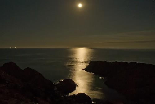Noches de luna llena en el Cap de Creus
