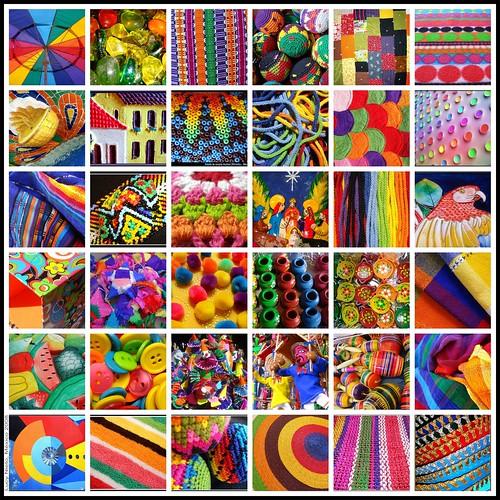Mosaico metamulticolor I - México 2008