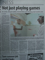 News Article: Not just playing games