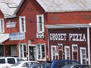 Venerable Crozet Pizza