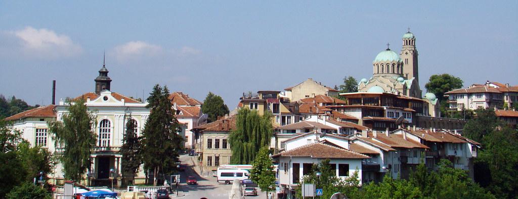 vista Iglesia de la Natividad Veliko Tarnovo Bulgaria 01