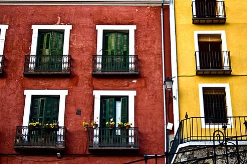 Fachadas de colores - Cuenca
