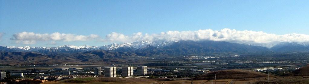 Saddleback Snow Quail Hill View