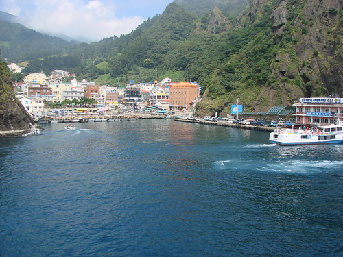 Harbour at Ulleung Island