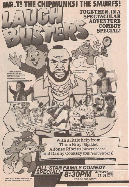 NBC Saturday Morning Cartoon Preview ad, 1984
