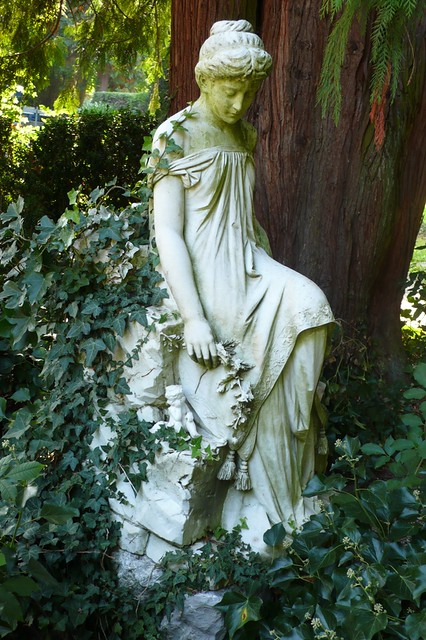 Statue in solothurn cemetary