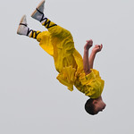 Flying Shaolin Kung Fu Monk