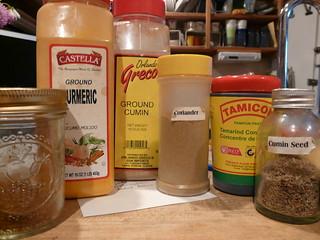 Masala Chana - Spices