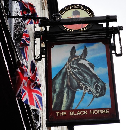 Whitby ... 'THE BLACK HORSE'.