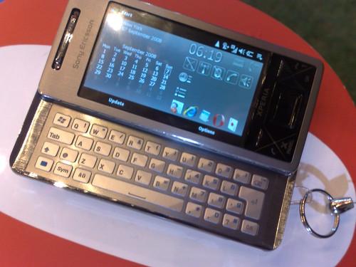 Sony Ericsson Xperia X1 open