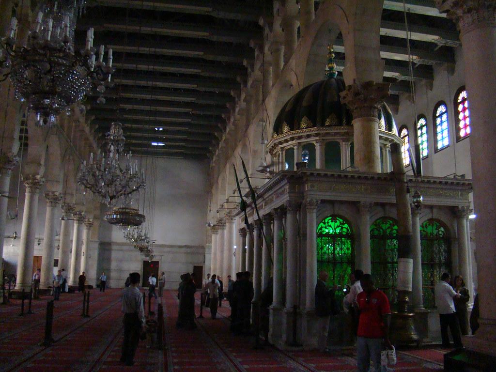 Siria Mezquita de los Omeyas Sepulcro de San Juan el Bautista Damasco 27