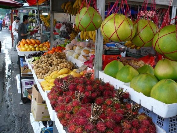 Fruit market, KL