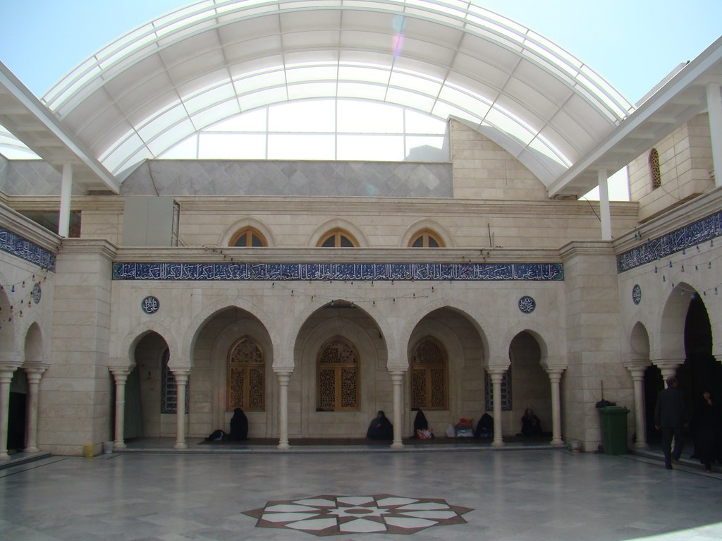 Siria Damasco patio Mezquita Sayyida Ruqayya 27
