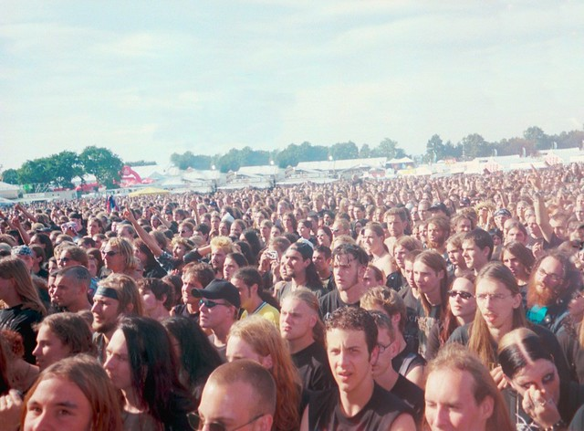 Crowd At Borknagar
