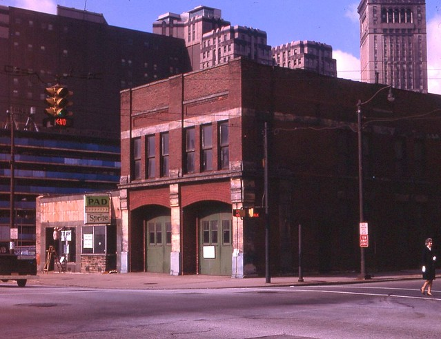 4th and Huron Firehouse Oct 67