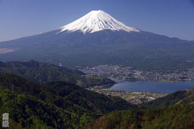 Monte Fuji desde Misaka