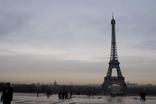 Eiffel from Trocadero