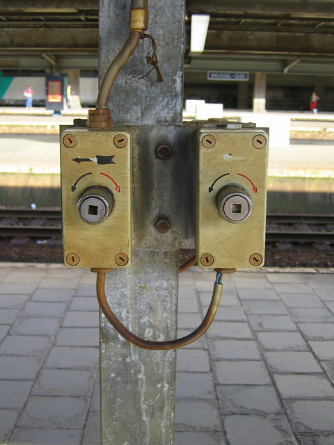 Train faces - cheerful