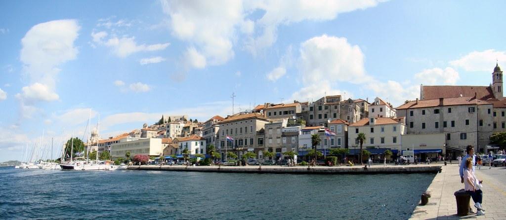 panoramica Sibenik Logia Municipal Croacia 41