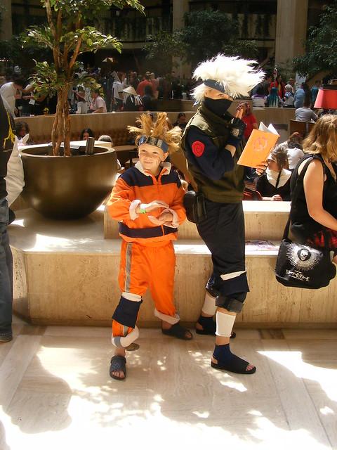 Cosplay - AWA14 - Naruto Uzumaki and Kakashi Hatake