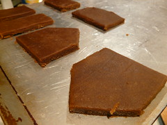 Unbaked Gingerbread Pieces