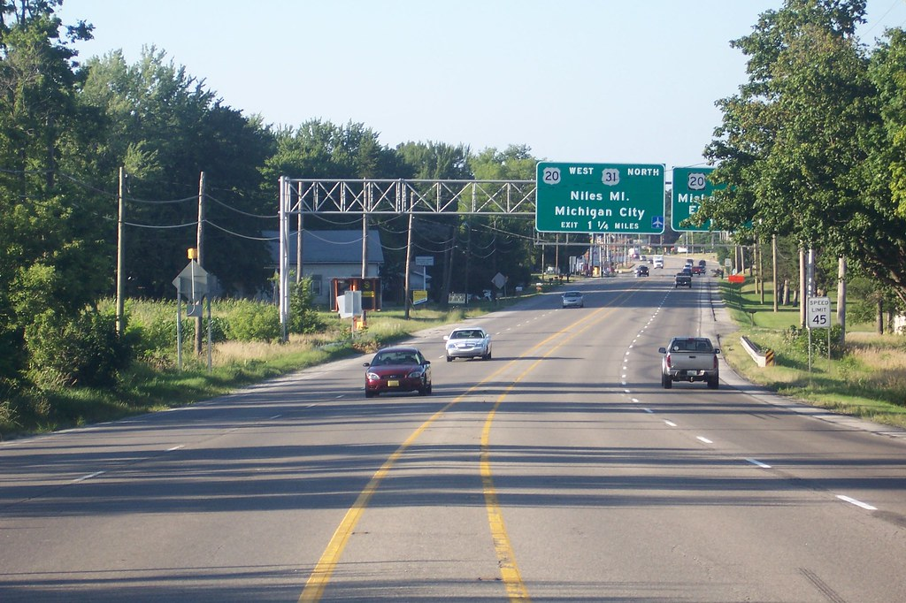Approaching South Bend