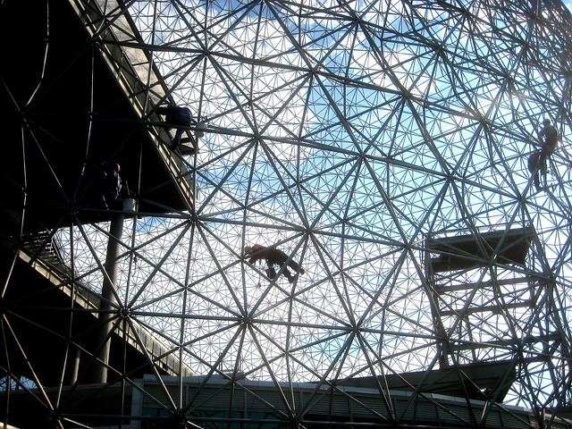 Ice Buckminster Fuller Montreal Biosphere