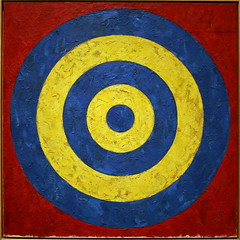 Target by Jasper Johns by cliff1066™ CC Flickr