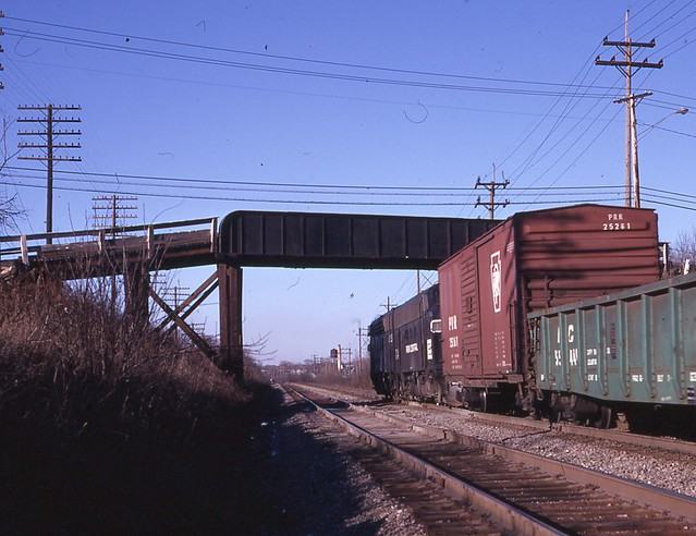Egbert Rd Bridge Bedford OH Dec 1971