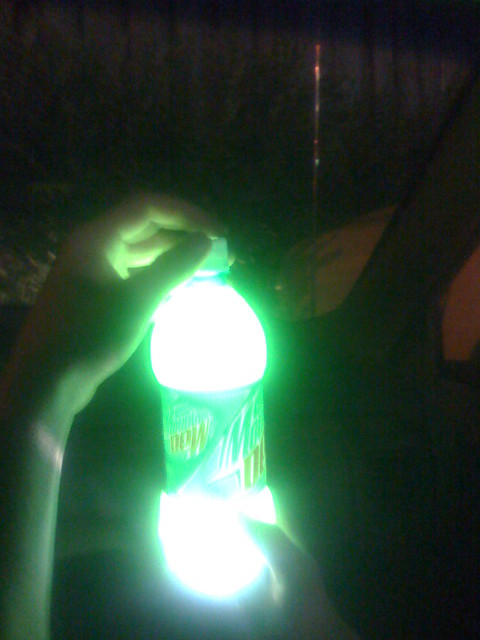 Glow Dark Mountain Dew Drinkable
