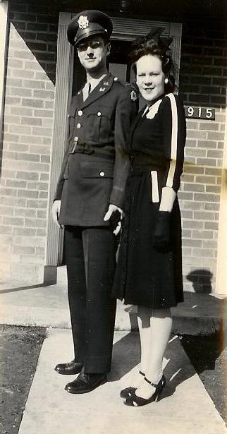 Bernie and Roger circa 1944