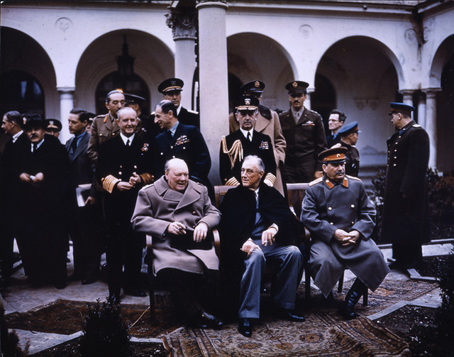 The Big Three at Yalta