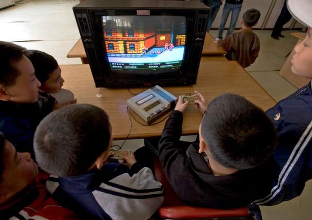 Billy Vs Jimmy , video games - Songdowon International Children's Union Camp in Wonsan - North Korea