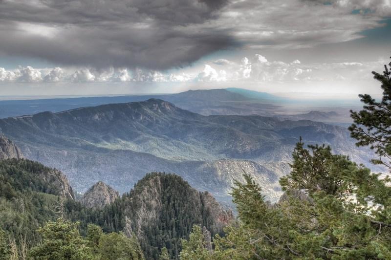 Manzano Mountains Albuquerque
