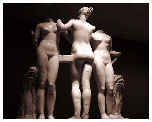Three Graces, Tripoli Museum, Libya