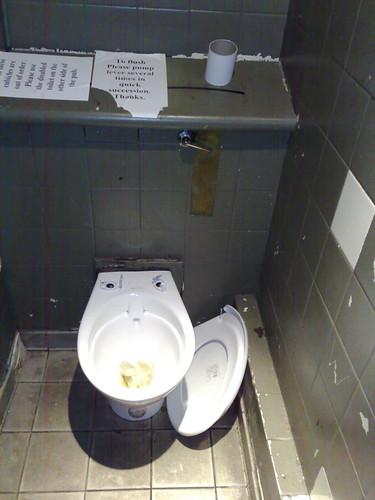 Trafalgar toilet