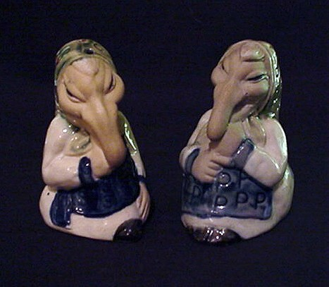 Happy Halloween Good Luck Kitchen Witch Salt And Pepper Shakers Flickr Photo Sharing