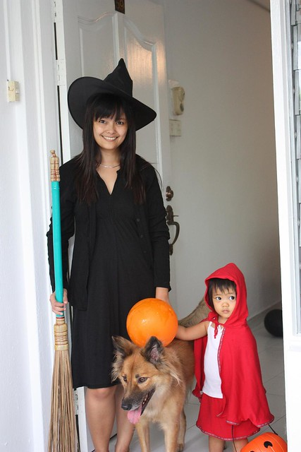 ready to go trick or treat :)