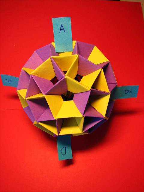 Dodecahedron Origami Iso
