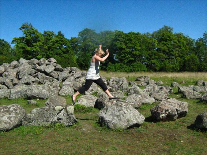 jumping stones