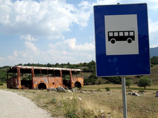 Parada del autobús