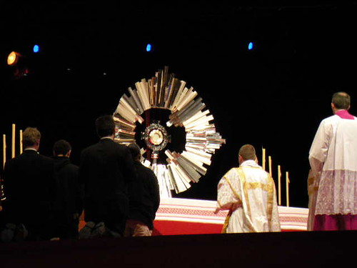 Adoration at Vigil