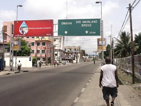 Awolowo Road Ikoyi Lagos Nigeria Election Day 2011 - Salewa Seriki by Jujufilms