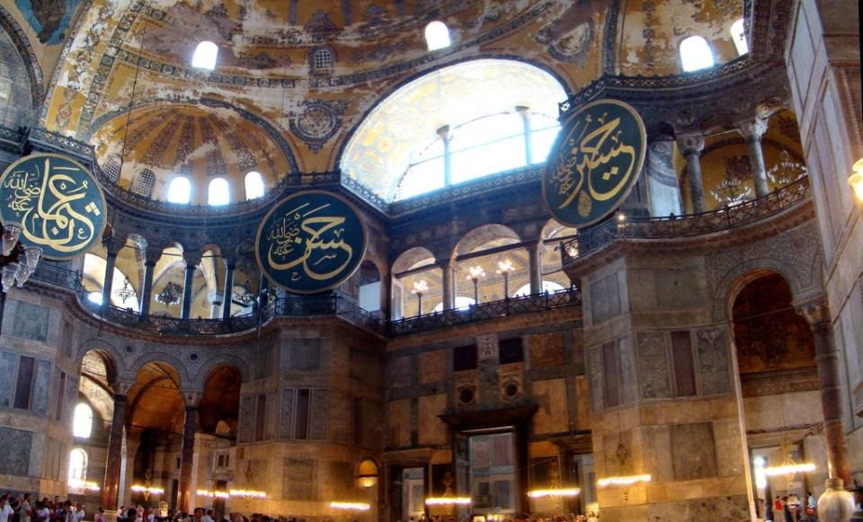 Estambul Mezquita Santa Sofia Turquia 48