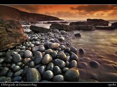 Ebbing tide at Dunraven Bay