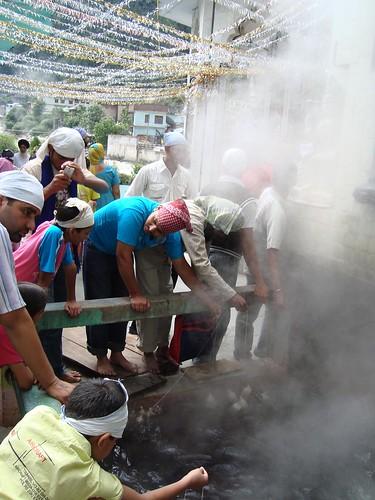 Manikaran Rice Cooking