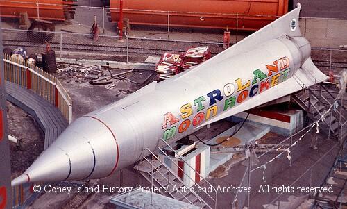Astroland Moon Rocket