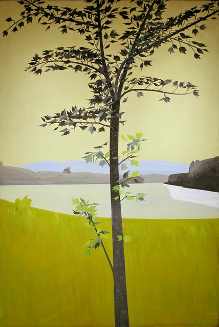 Swamp Maple 4 30 1968 Oil On Linen By Alex Katz