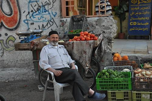 Balata produce seller