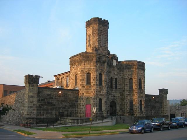 Blair County Jail Hollidaysburg Pennsylvania Built